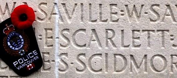 Ernest Scarlett - Vimy Memorial