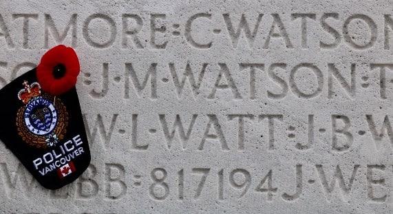 James Murray Watson - Vimy Memorial