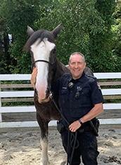 Police Horse Ike